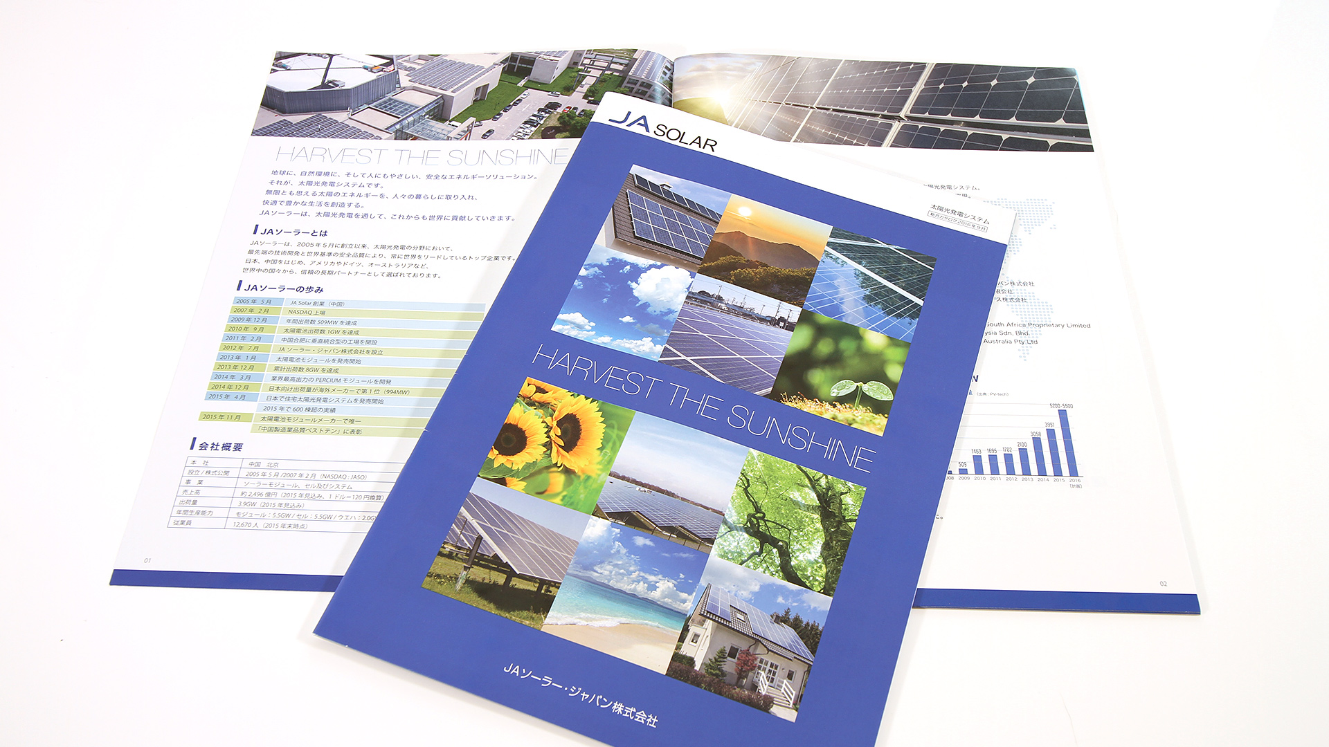 JA SOLAR JAPAN 総合カタログ